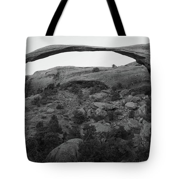 Landscape Arch Tote Bag by Marie Leslie