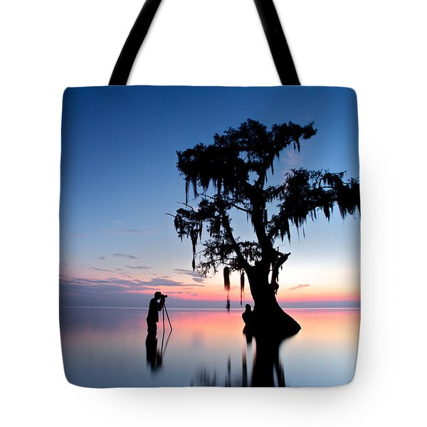 Landscape Backstage Tote Bag
