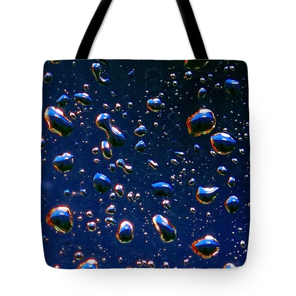 Tote Bag featuring the photograph Landscape Bubbles by Marianne Dow