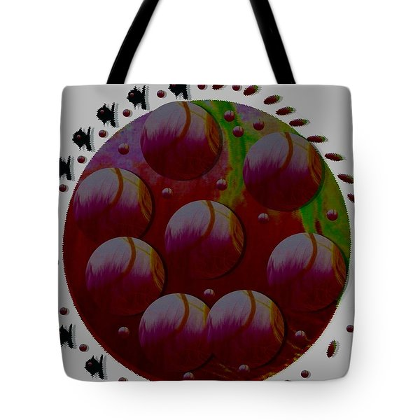 Landscape Decorative Tote Bag by Pepita Selles