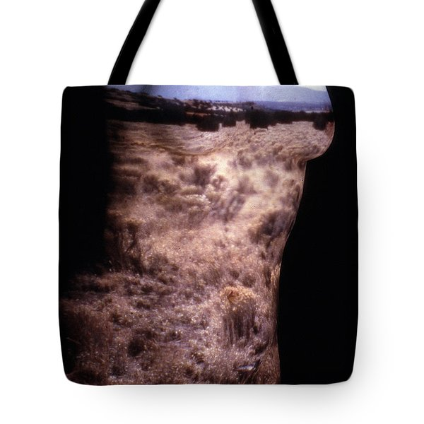 Landscape Dress Tote Bag by Arla Patch