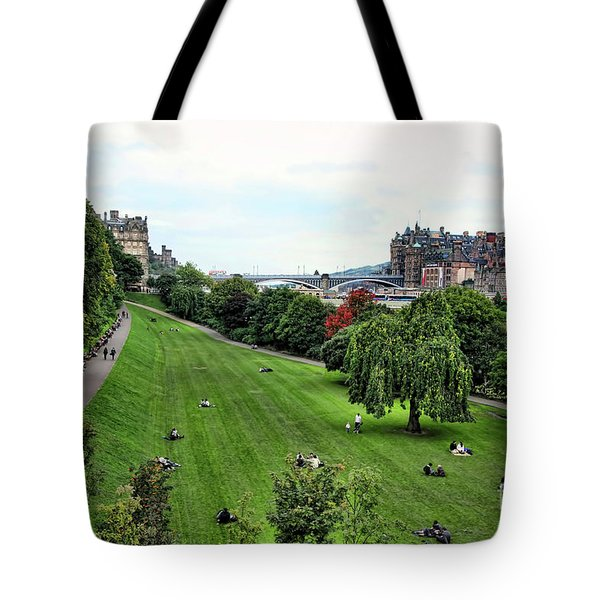 Landscape Edinburgh  Tote Bag