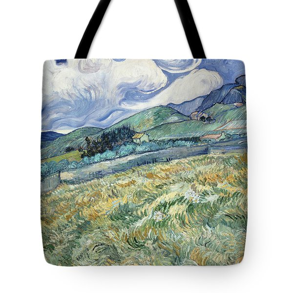 Landscape From Saint Remy  Tote Bag