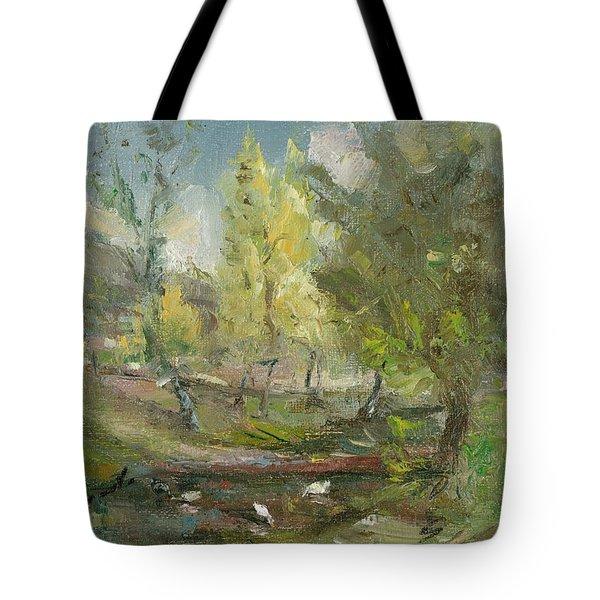 Landscape In Climauti Tote Bag