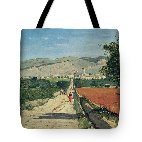 Landscape In Provence Tote Bag