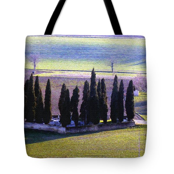 Tote Bag featuring the photograph Landscape by Jean Bernard Roussilhe
