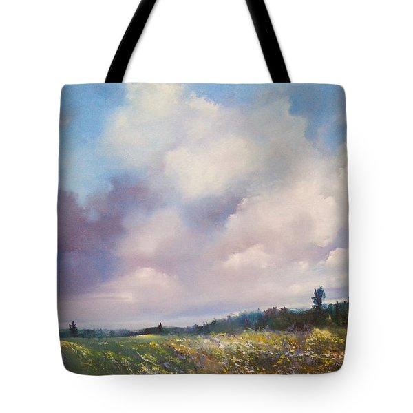Landscape Tote Bag by Maja Sokolowska