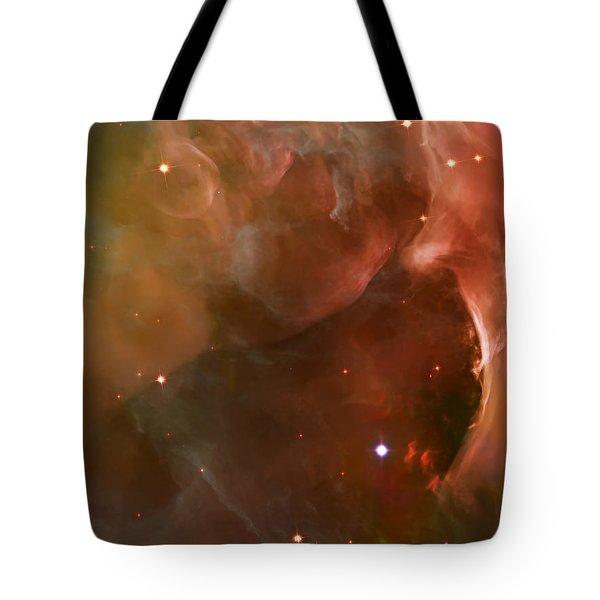 Landscape Orion Nebula Tote Bag by Jennifer Rondinelli Reilly - Fine Art Photography