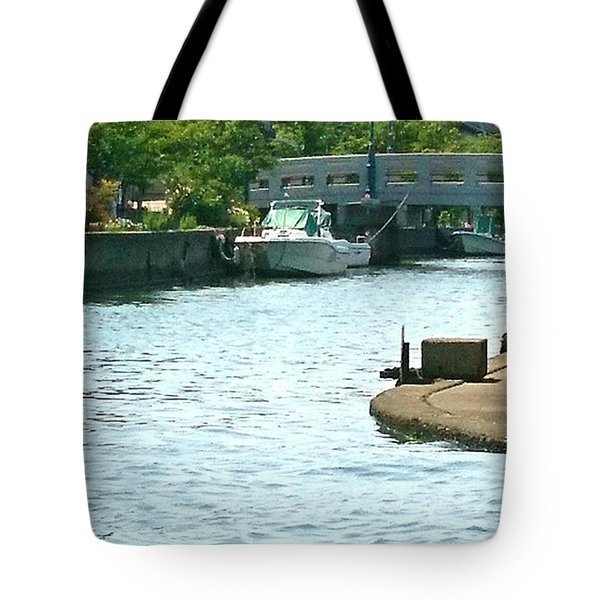 Japanese Seaside Tote Bag