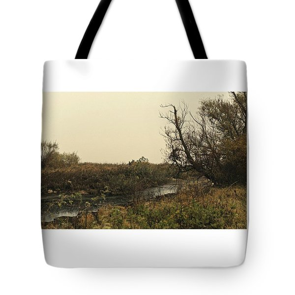 #landscape #stausee #mothernature #tree Tote Bag by Mandy Tabatt