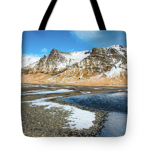 Tote Bag featuring the photograph Landscape Sudurland South Iceland by Matthias Hauser