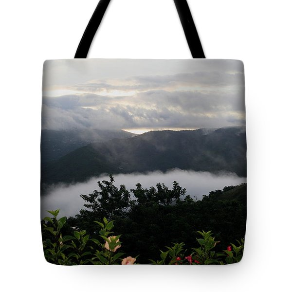 Tote Bag featuring the photograph Landscape Tropical by The Art of Alice Terrill