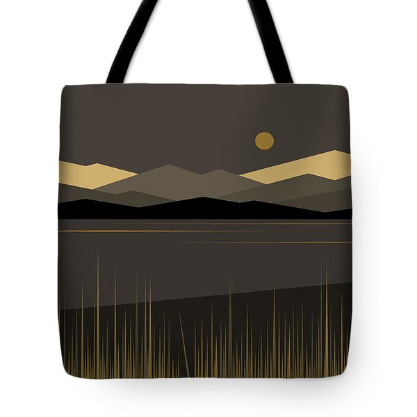 Landscape Tote Bag by Val Arie