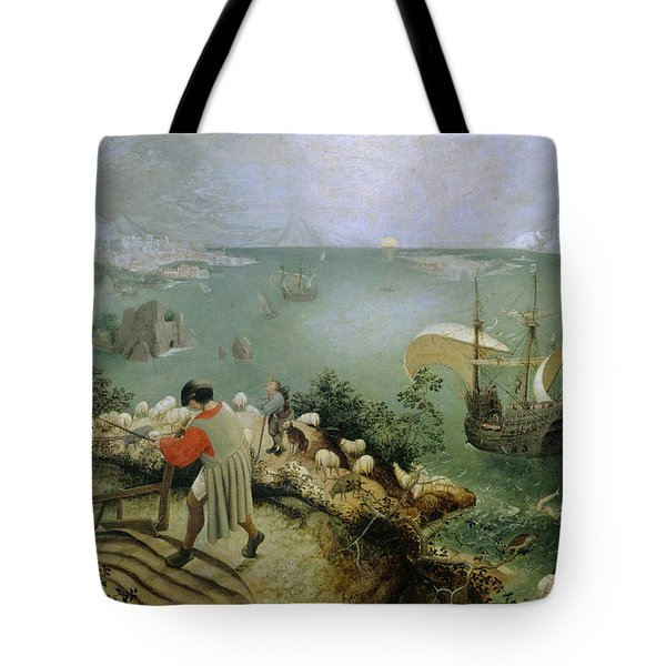 Landscape With The Fall Of Icarus Tote Bag