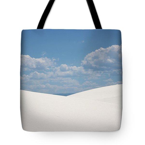 Landscapes Of White Sands 11 Tote Bag
