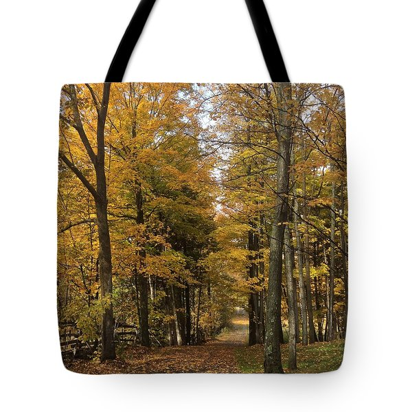 Tote Bag featuring the photograph Lane by Pat Purdy