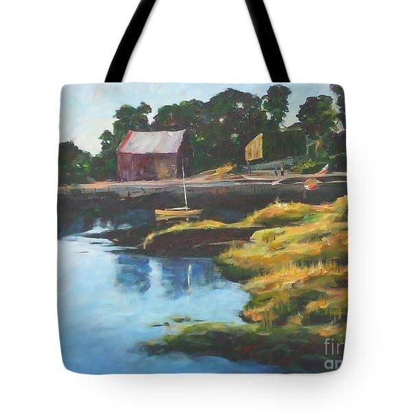 Lane's Cove Sunset Tote Bag