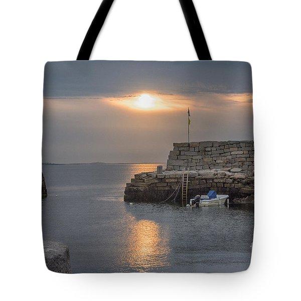 Lanesville Sunset Tote Bag