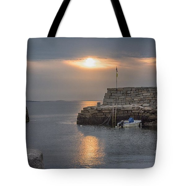 Lanesville Sunset Tote Bag