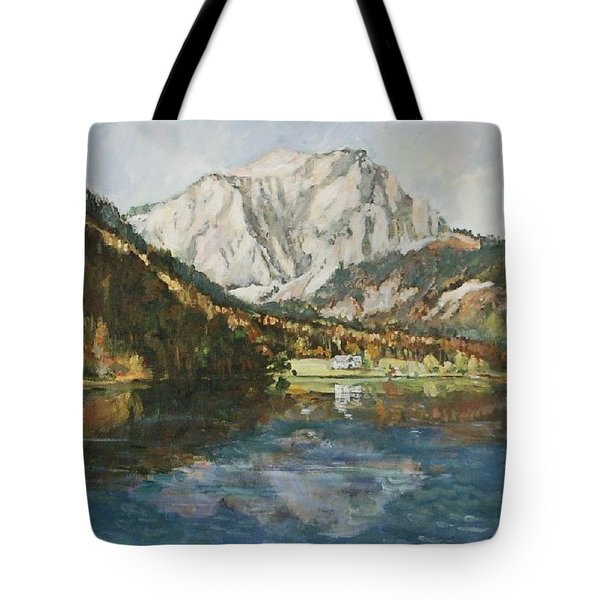 Langbathsee Austria Tote Bag