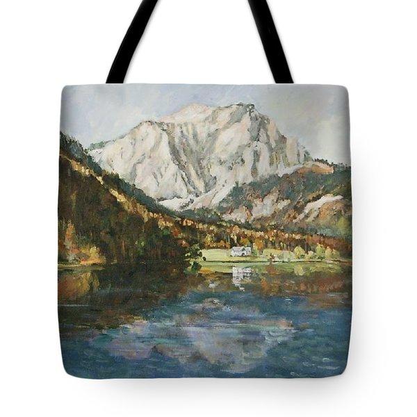Langbathsee Austria Tote Bag by Alexandra Maria Ethlyn Cheshire