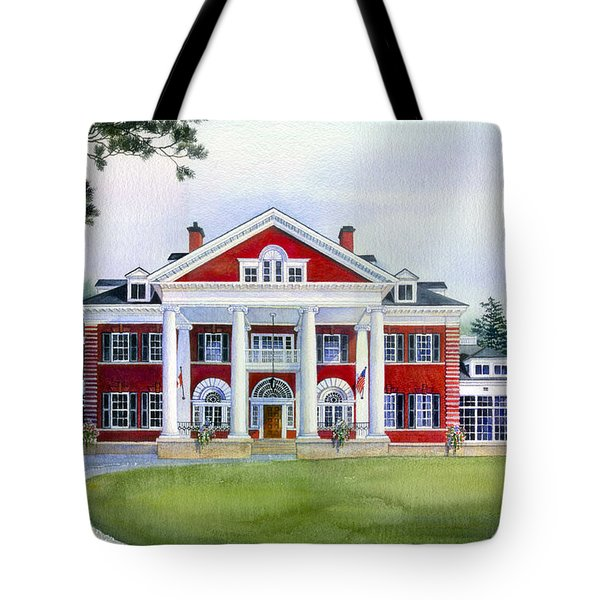 Langdon Hall Tote Bag by Hanne Lore Koehler