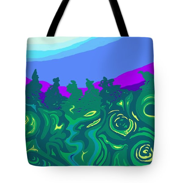 Language Of Forest Tote Bag