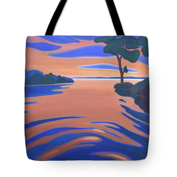 Languid Evening Tote Bag