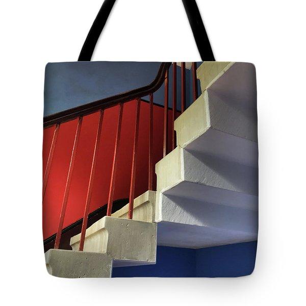 Lanhydrock Stairs Tote Bag