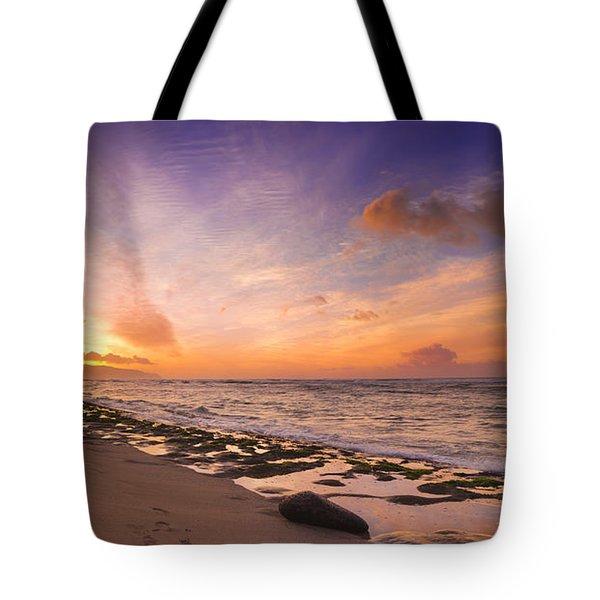 Laniakea Sunset Tote Bag