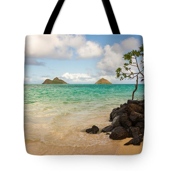 Lanikai Beach 1 - Oahu Hawaii Tote Bag