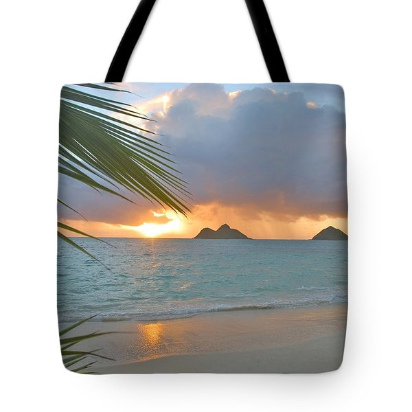 Lanikai Sunrise Tote Bag