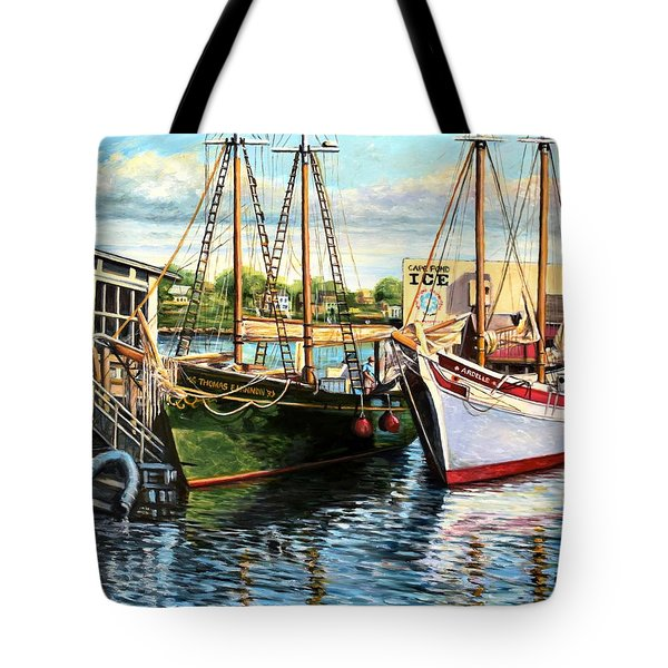 Lannon And Ardelle Gloucester Ma Tote Bag