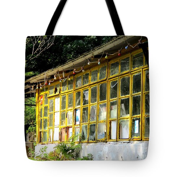 Tote Bag featuring the photograph Lantau Island 46 by Randall Weidner