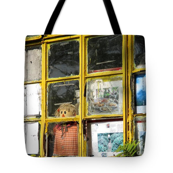 Tote Bag featuring the photograph Lantau Island 47 by Randall Weidner