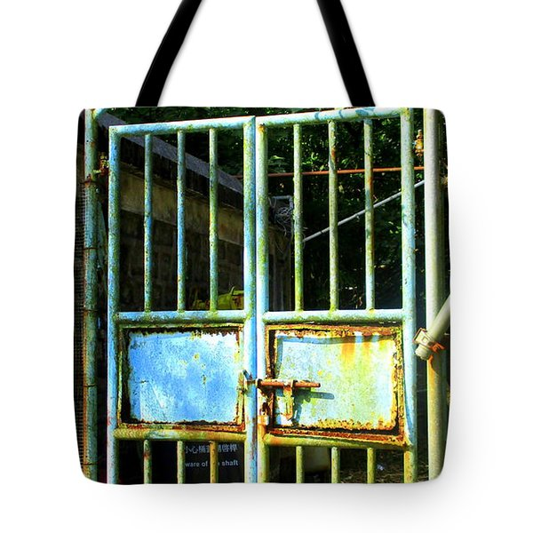 Tote Bag featuring the photograph Lantau Island 48 by Randall Weidner