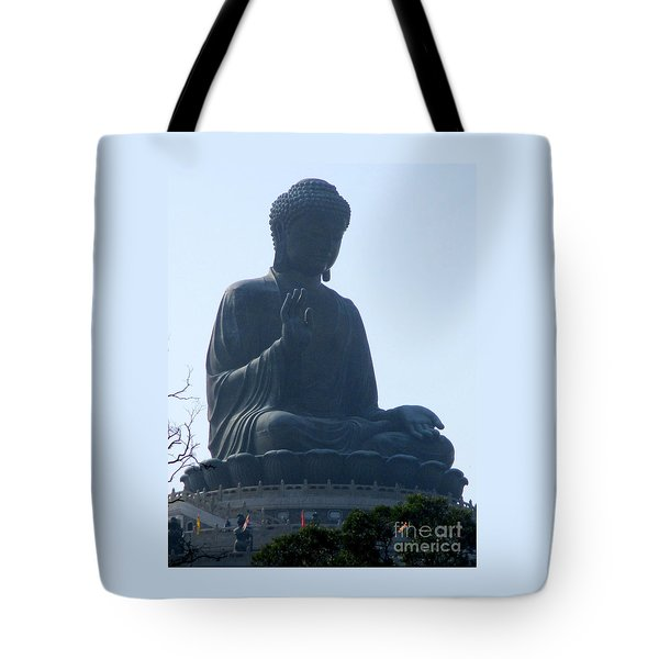 Tote Bag featuring the photograph Lantau Island 49 by Randall Weidner