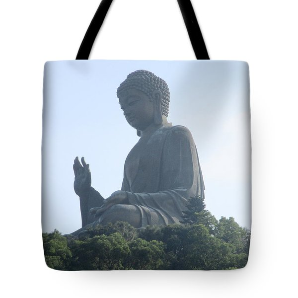 Tote Bag featuring the photograph Lantau Island 50 by Randall Weidner