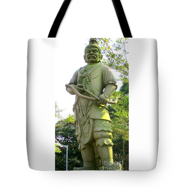 Tote Bag featuring the photograph Lantau Island 52 by Randall Weidner
