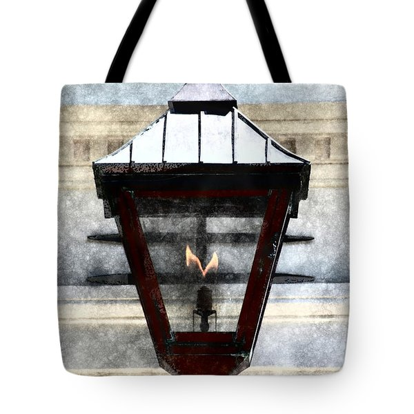 Tote Bag featuring the photograph Lantern 13 by Donna Bentley