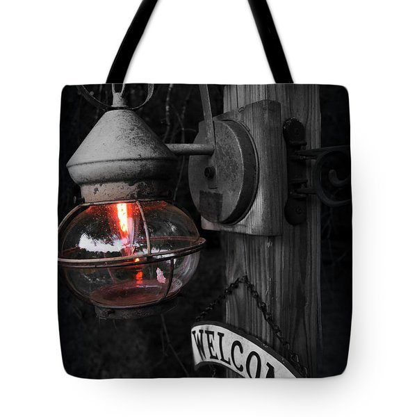 Tote Bag featuring the photograph Lantern by Brian Jones