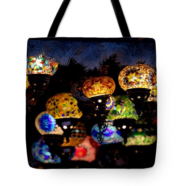 Lanterns - Night Light Tote Bag