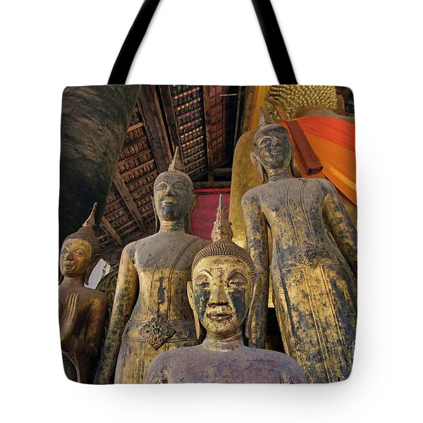 Tote Bag featuring the photograph Laos_d186 by Craig Lovell