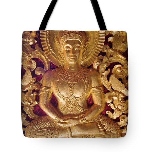 Tote Bag featuring the photograph Laos_d264 by Craig Lovell