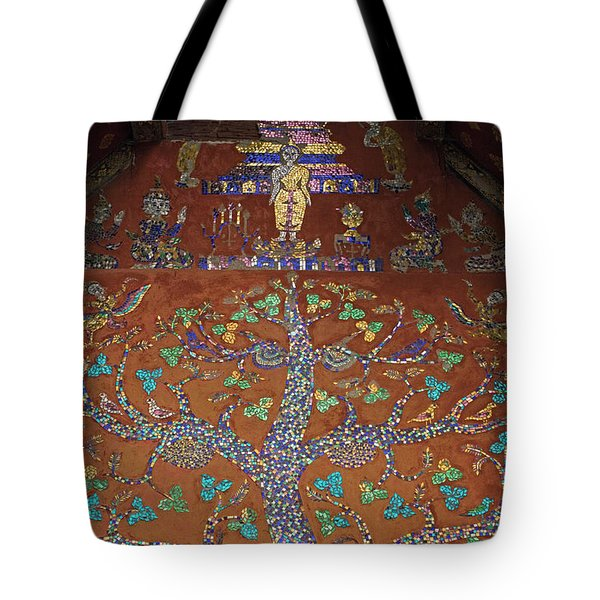 Tote Bag featuring the photograph Laos_d92 by Craig Lovell