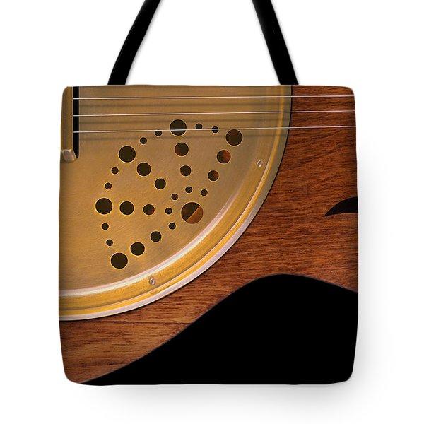 Lap Guitar I Tote Bag by Mike McGlothlen