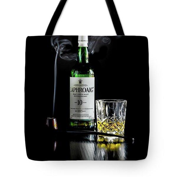Whiskey And Smoke Tote Bag
