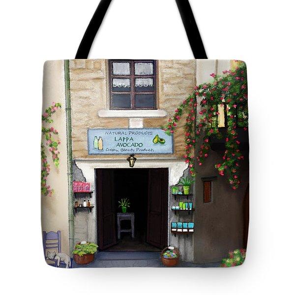 Lappa - A Cretan Natural Beauty Tote Bag