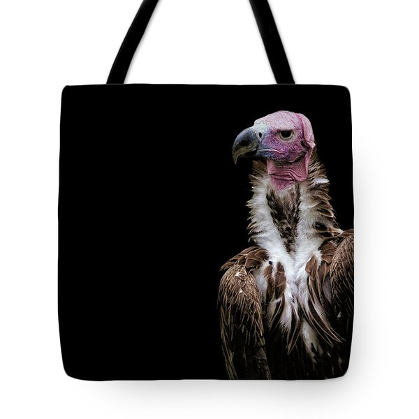 Tote Bag featuring the photograph Lappet-faced Vulture - Africa - African Vulture - Nubian Vulture by Jason Politte