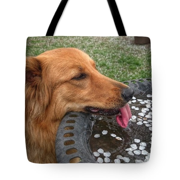 Lapping Tote Bag